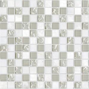 ΨΗΦΙΔΑ - MOSAICO GLASS BLANCO 30X30