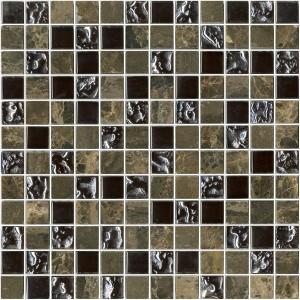 ΨΗΦΙΔΑ - MOSAICO GLASS MARRON 30X30